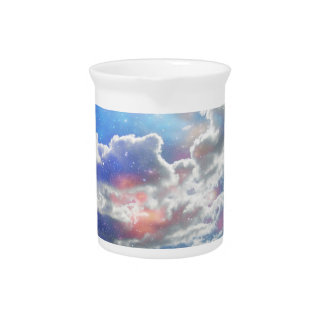 Celestial Clouds Pitcher