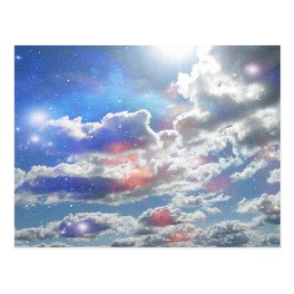 Celestial Clouds Postcard