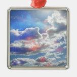 Celestial Clouds Premium Ornament