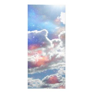 Celestial Clouds Full Color Rack Card