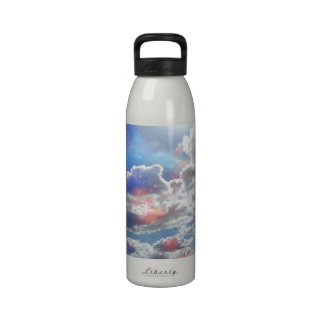Celestial Clouds Water Bottle
