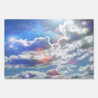 Celestial Clouds Yard Sign