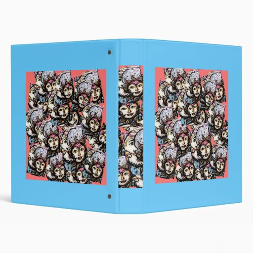 Celestial Collage Suns & Moons Binder