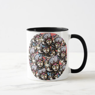 Celestial Collage Suns & Moons Mug
