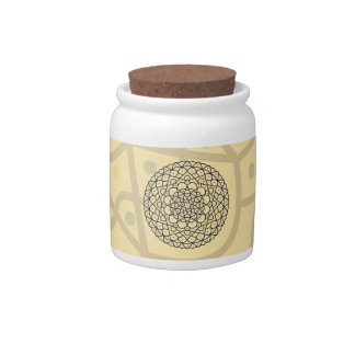 Celestial Day Candy Jar