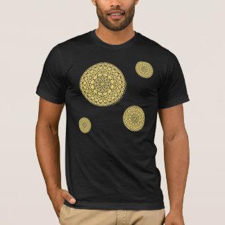 Celestial Day Men's Dark Shirt
