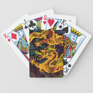 Celestial Dragon Bicycle Playing Cards