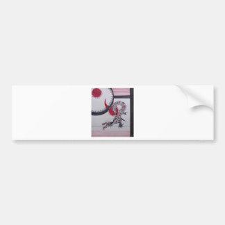 Celestial Dragon Bumper Sticker