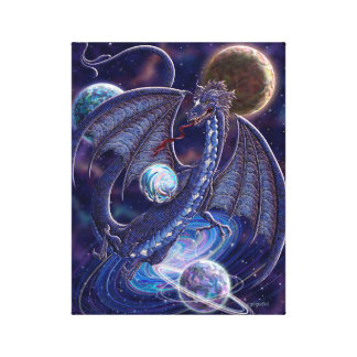 Celestial Dragon Canvas Stretched Canvas Prints