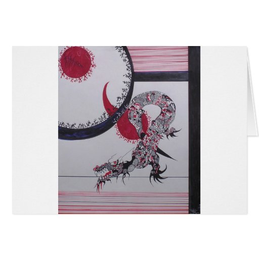 Celestial Dragon Greeting Card