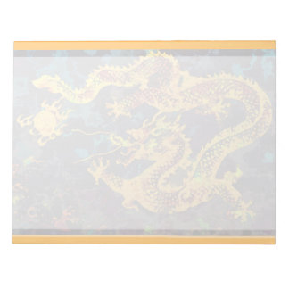 Celestial Dragon Notepad