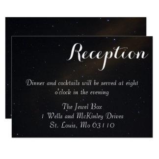 Celestial Dreams Reception Card