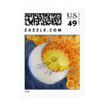Celestial Embrace Postage Stamp