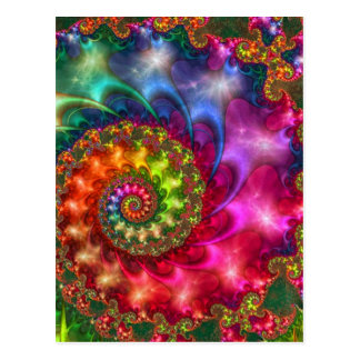 CELESTIAL ESOTERIC PAINTING POSTCARD