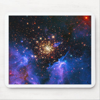 Celestial Fireworks Mouse Pad