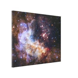 Celestial Fireworks - Westerlund 2 Canvas Print