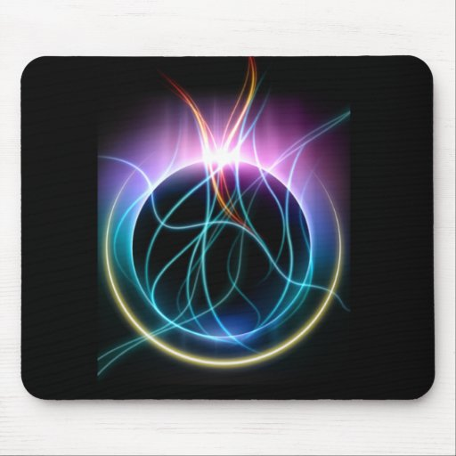 Celestial Flames Mouse Pad