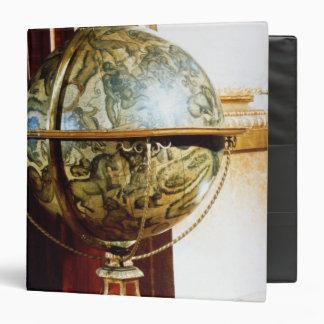 Celestial globe 1688 vinyl binder
