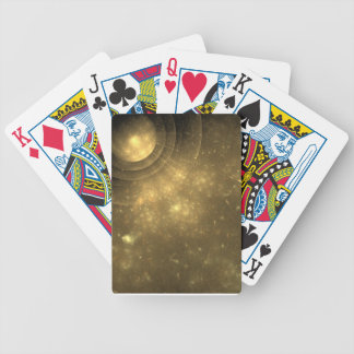 celestial glow bicycle playing cards