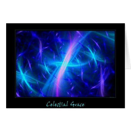 Celestial Grace Greeting Card