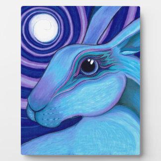 Celestial hare plaque