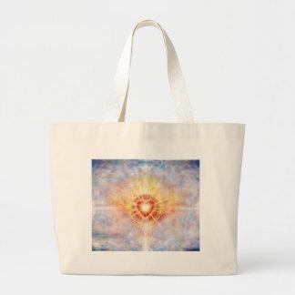 Celestial Heart Large Tote Bag