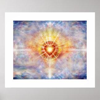 Celestial Heart Poster