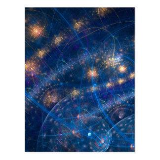 Celestial Lighs Postcard