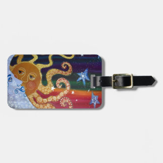 Celestial Luggage Tag