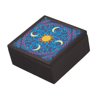 Celestial Mandala Keepsake Box