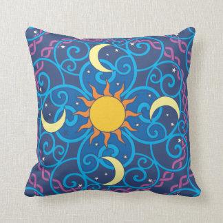 Celestial Mandala Pillow