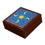 Celestial Mandala Wooden Keepsake Box<br><div class='desc'>Keep your precious items safe in one of our amazing keepsake box designs!</div>