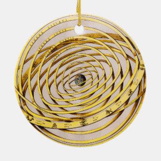 Celestial Map Andres Celarius Round Ornament