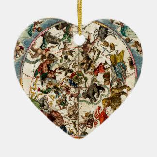Celestial map.jpg ceramic ornament