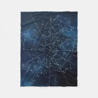 Celestial Map Fleece Blanket