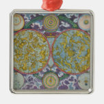 Celestial Map of the Planets Christmas Tree Ornaments