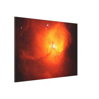 Celestial Maternity Ward N81 in the Small Magellan Stretched Canvas Print