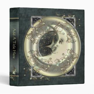 "Celestial Moon Design 1"" Avery Binder"