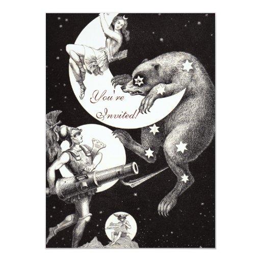 Celestial Moon Goddess Luna Ursa Major and Mars Announcement