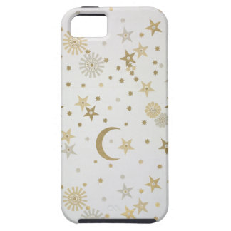 Celestial motif wallpaper late nineteenth century iPhone 5 case