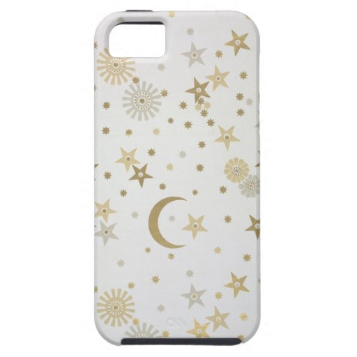 Celestial motif wallpaper, late nineteenth century iPhone 5 case