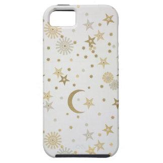 Celestial motif wallpaper, late nineteenth century iPhone SE/5/5s case