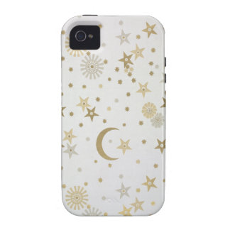 Celestial motif wallpaper, late nineteenth century vibe iPhone 4 cover