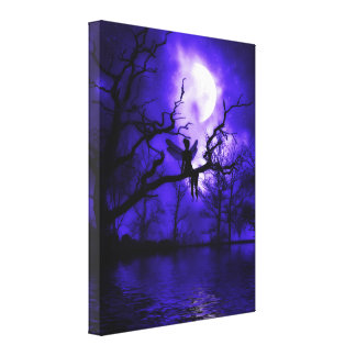 Celestial Night Wrapped Canvas Canvas Print