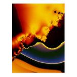 Celestial organics post card
