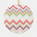 Celestial pink Chevron and pies, zigzag
