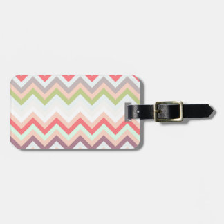 Celestial pink Chevron and pies zigzag
