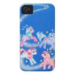 Celestial Ponies iPhone 4 Case-Mate Cases