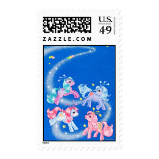 Celestial Ponies Stamps