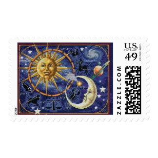 Celestial Postage Stamps